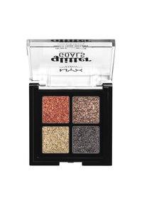 Nyx Professional Makeup - GLITTER GOALS CREAM QUAD PALETTE - Eyeshadow palette - 2 galactica - 1
