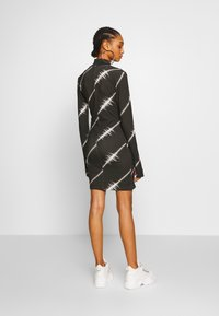 House of Holland - SOUNDWAVE MINI DRESS - Jersey dress - black - 2