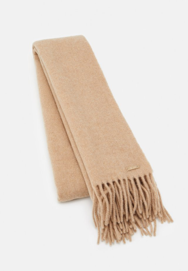 Scarf - classic camel