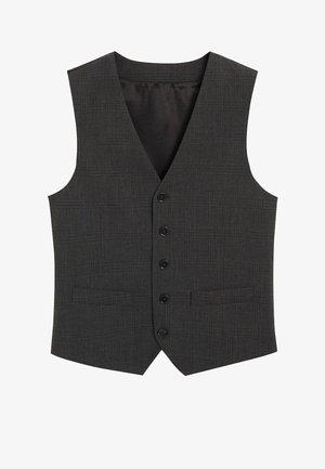 GILET DE COSTUME SLIM-FIT - Suit waistcoat - noir