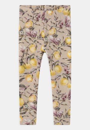 NMFDANSY - Leggings - Trousers - peyote melange