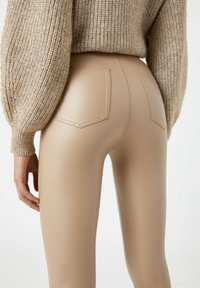 PULL&BEAR - Leggings - Trousers - beige - 4