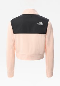 The North Face - G SURGENT FULL ZIP CROPPED - Träningsjacka - pearl blush - 1