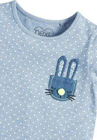 Next - BLUE SPOT BUNNY T-SHIRT (3MTHS-7YRS) - Print T-shirt - blue - 2