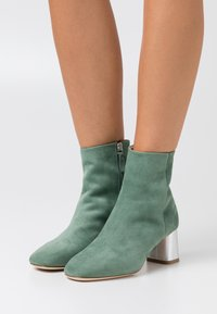 Repetto - MELO - Bottines - jade/argent - 0