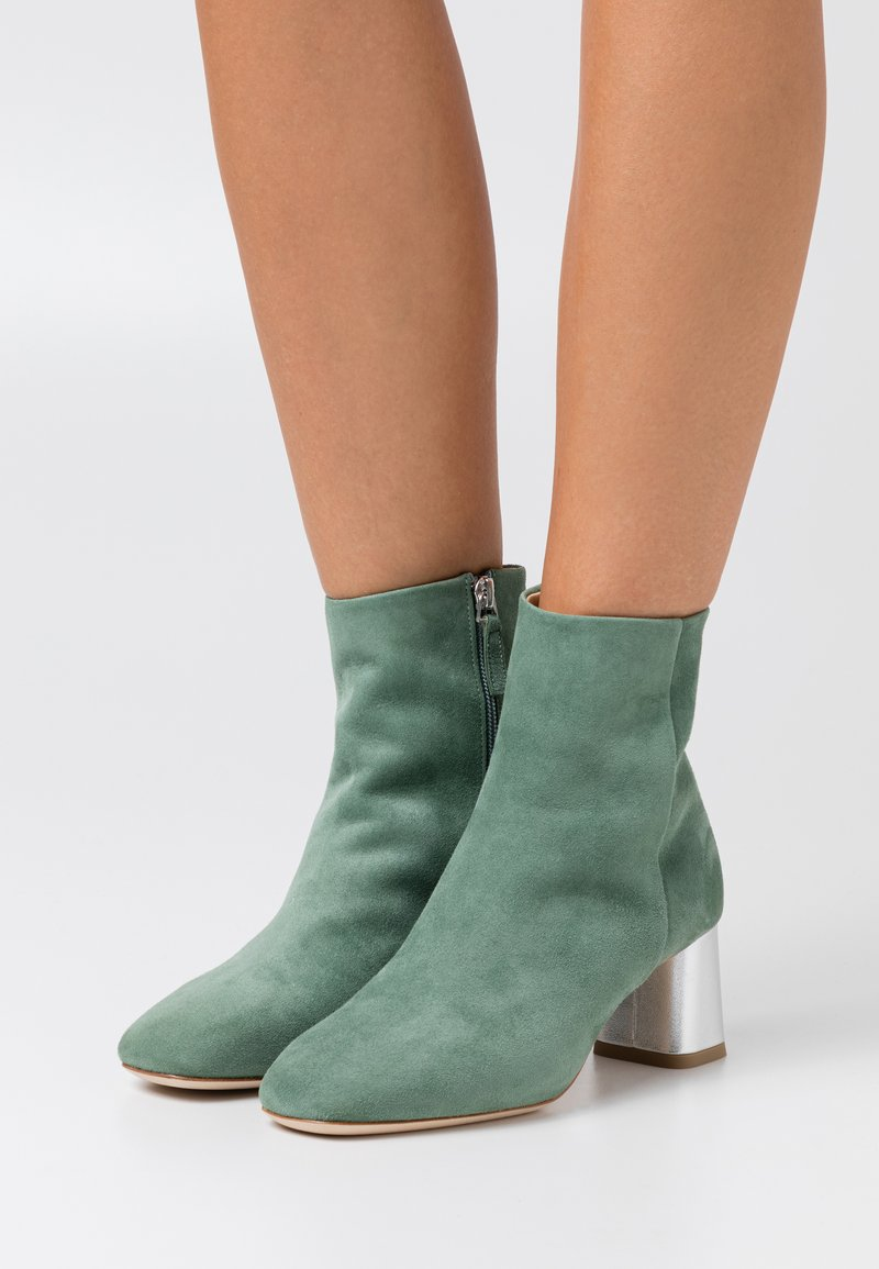 Repetto - MELO - Bottines - jade/argent