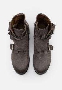 A.S.98 - CLASH - Cowboy/biker ankle boot - smoke - 3