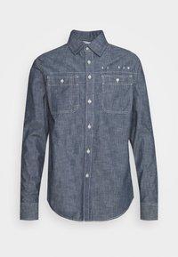 KINEC STRAIGHT SHIRT L\S - Shirt - faded blue