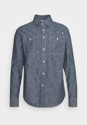 KINEC STRAIGHT SHIRT L\S - Hemd - faded blue
