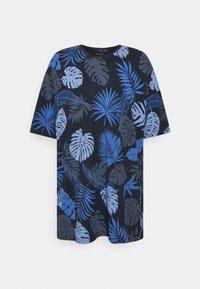 Shine Original - PALM O NECK TEE - Print T-shirt - navy - 0