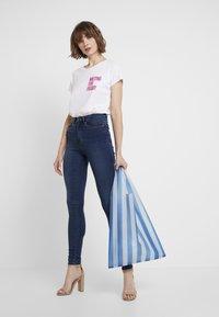 ONLY - ONLROYAL - Jeansy Skinny Fit - dark blue denim - 2