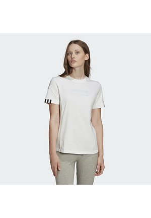 T-SHIRT - T-shirt con stampa - white