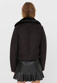 Stradivarius - Light jacket - black