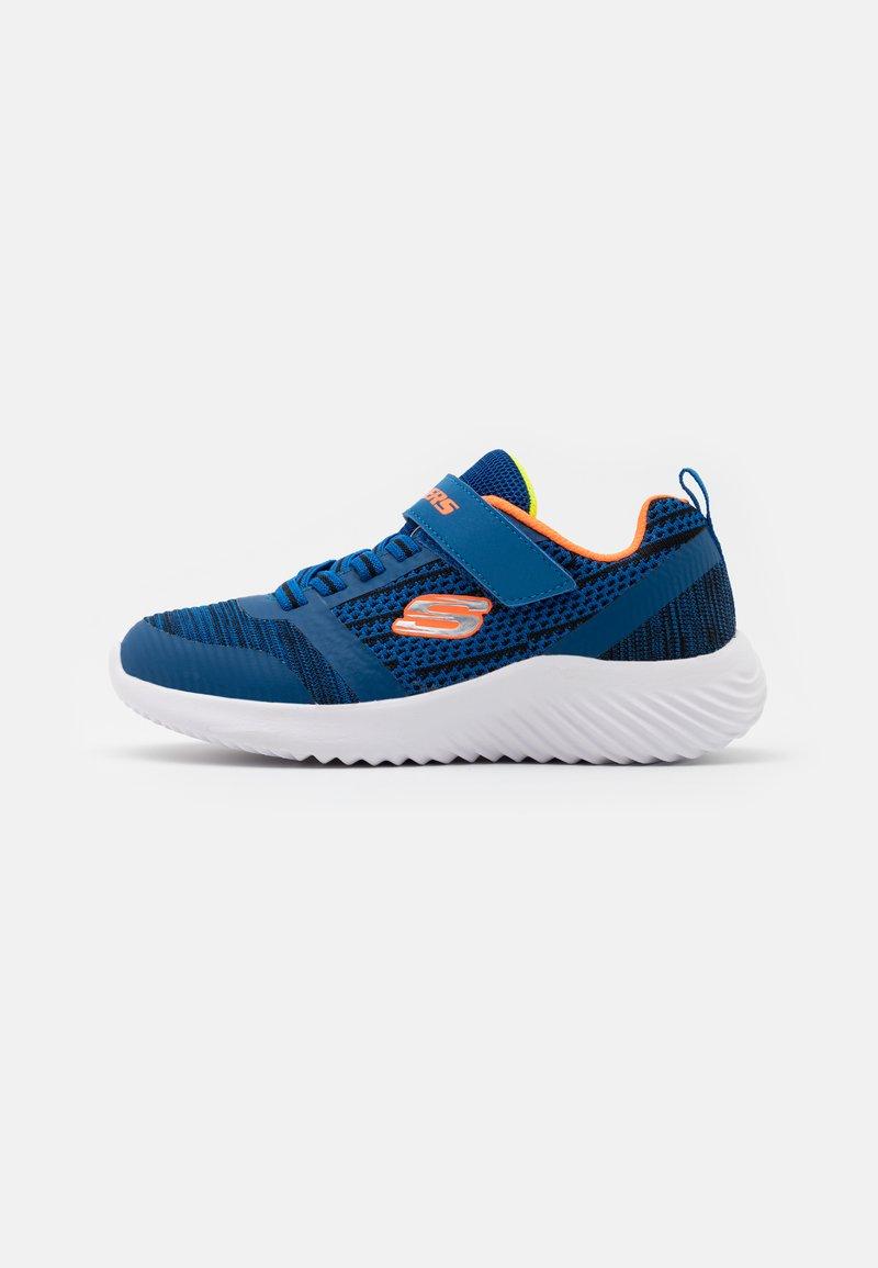 Skechers - BOUNDER - Trainers - blue/black/orange/lime