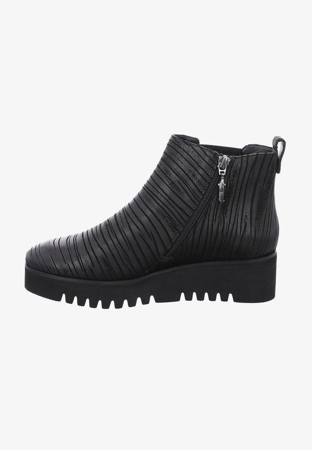 KUWAIT  - Wedge Ankle Boots - schwarz