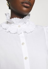 Custommade - BLANCA - Blouse - bright white - 6