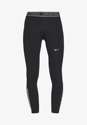 TIGHT 7/8  - Leggings - black/white
