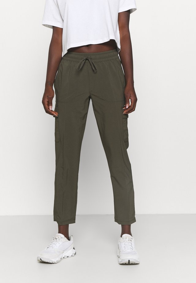 NEVER STOP WEARING PANT  - Cargobyxor - new taupe green