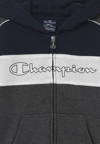 Champion - LEGACY HOODED FULL ZIP SUIT SET - Tracksuit - dark blue - 3