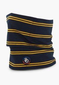 s.Oliver - 2ER-SET - Snood - navy uni & yellow stripes - 2