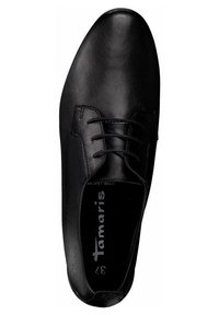 Tamaris - Casual lace-ups - black leather - 1