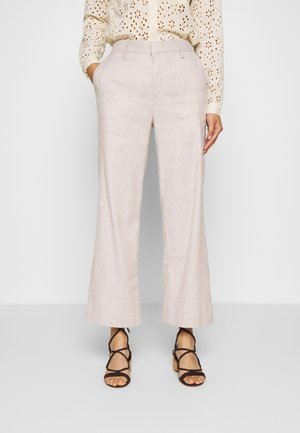 EVERYBODY WIDE LEG - Pantaloni - light sand
