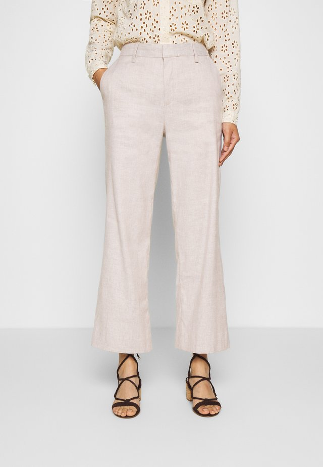 EVERYBODY WIDE LEG - Broek - light sand