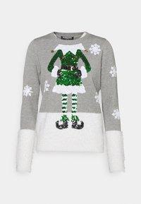 Fashion Union - CHRISTMAS ELF - Jumper - grey - 4