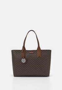 FRIDASHOPPING BAG - Handbag - moro/ecru/tabacco