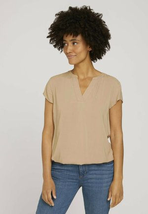 Blouse - french clay beige