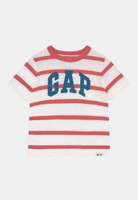 GAP - TODDLER BOY LOGO STRIPE - Camiseta estampada - desert flower - 0