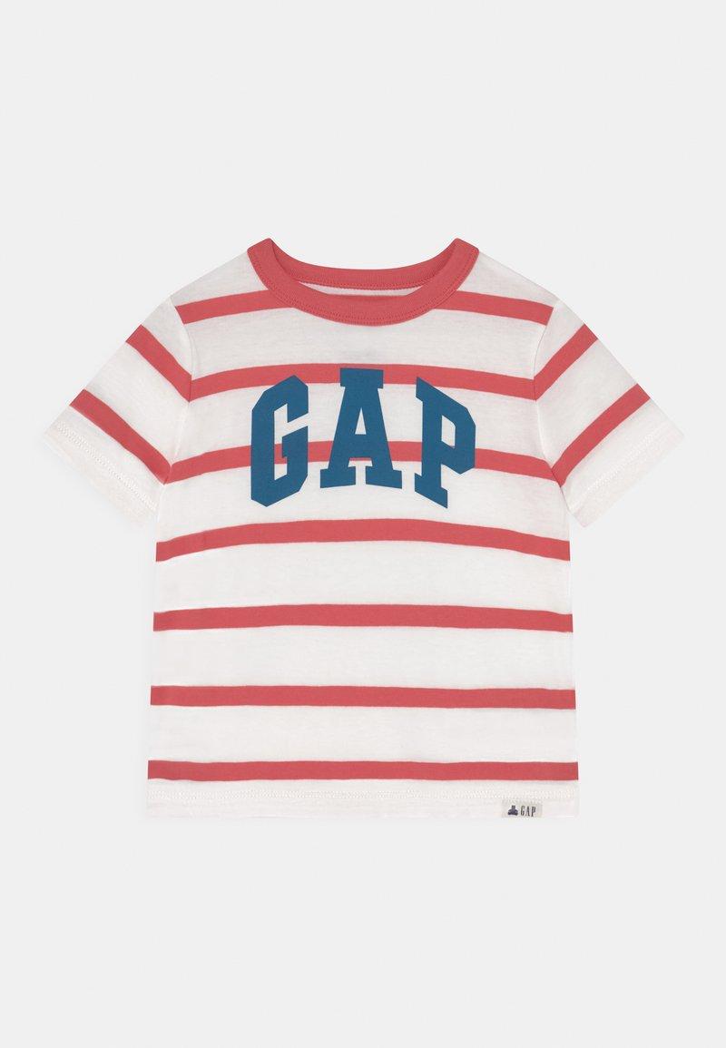 GAP - TODDLER BOY LOGO STRIPE - Camiseta estampada - desert flower