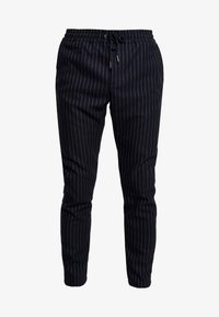 We are Cph - JANZIK STRING PANTS  - Trousers - navy/white - 4
