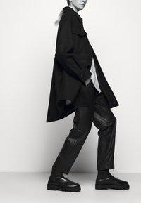 MM6 Maison Margiela - Short coat - black - 4