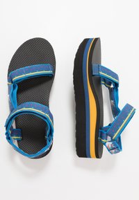 Teva - FLATFORM UNIVERSAL WOMENS - Outdoorsandalen - dark blue - 1