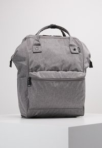 anello - TOTE BACKPACK UNISEX - Rygsække - grey - 0