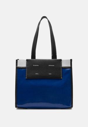LARGE COATED TOTE - Käsilaukku - blue
