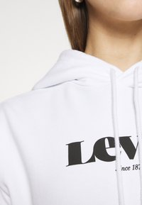 Levi's® - GRAPHIC STANDARD HOODIE - Sweat à capuche - white - 5