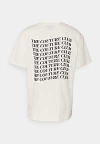 The Couture Club - RELAXED FIT T-SHIRT WITH WAVE BACK PRINT - Print T-shirt - whisper white - 6