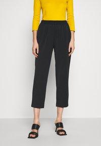 Sisley - Pantaloni sportivi - black - 0