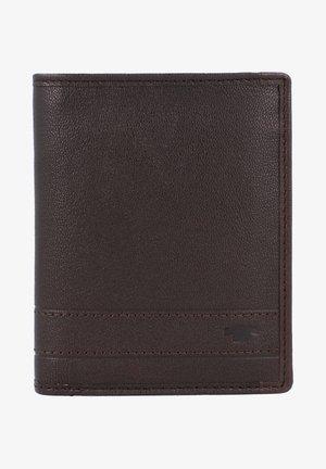 TERRY GELDBÖRSE RFID LEDER 10 CM - Wallet - brown
