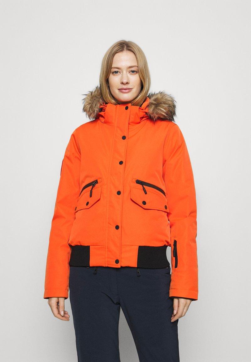 Superdry - EVEREST SNOW - Skijakke - havana orange