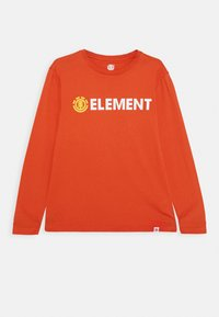 Element - SIGNATURE  - Longsleeve - red clay - 0