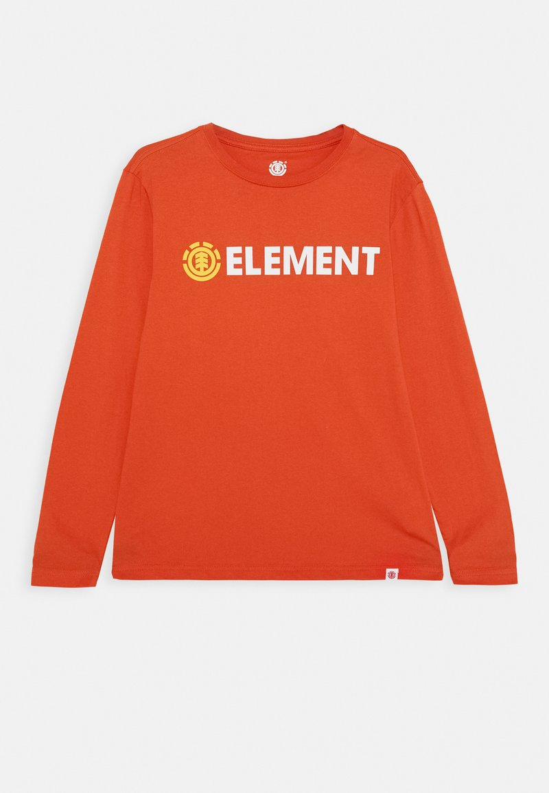 Element - SIGNATURE  - Longsleeve - red clay