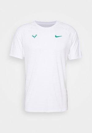 RAFAEL NADALEL NADAL - Print T-shirt - white/lucid green