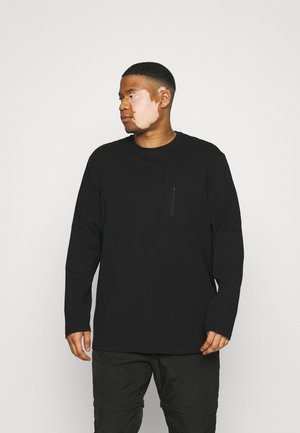 ONSMAKHI LIFE POCKET TEE  - Long sleeved top - black
