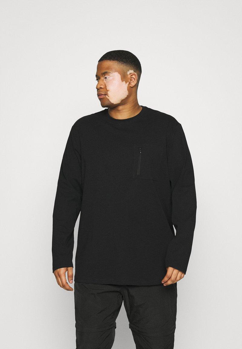 Only & Sons - ONSMAKHI LIFE POCKET TEE  - Long sleeved top - black