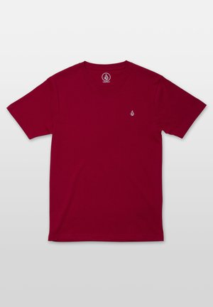 STONE BLANK  - T-shirt basique - red