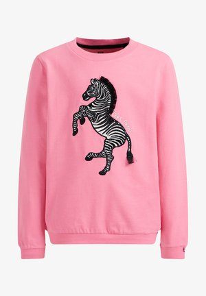 MET EMBROIDERY - Jumper - bright pink