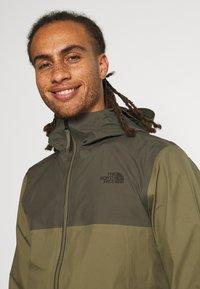 The North Face - APEX FLEX FUTURELIGHT JACKET - Hardshell jacket - olive/taupe - 3